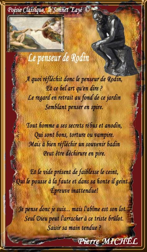110_SONNET à ECHO_ Le Penseur de RODIN___eee