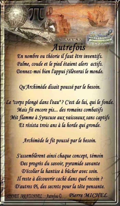 120_SONNET_IRRATIONNEL _ Autrefois