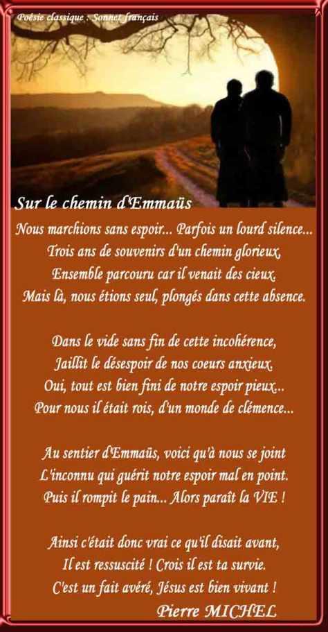 101_ SONNET FRANÇAIS _Sur le chemin dEmmaüs____)