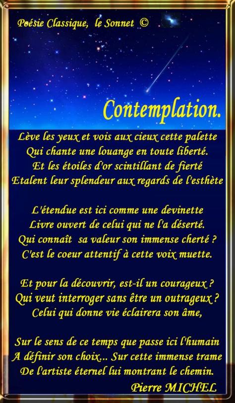 103_SONNET français_Contemplation_____)