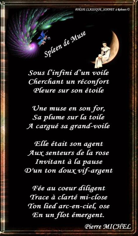 170_SONNET  à Rebours_ Spleen de Muse______